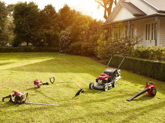 Give your lawn the professional sporting arena touch