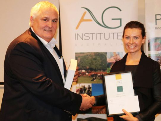 Chelsea Stroppiana - Top ag science student