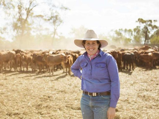 Emma Robinson - leading agricultural woman
