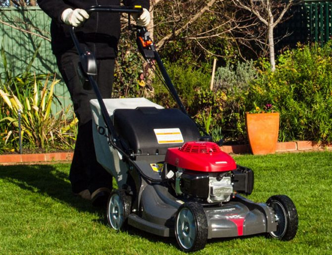 Honda HRX217HZU Mulch & Catch Lawnmower