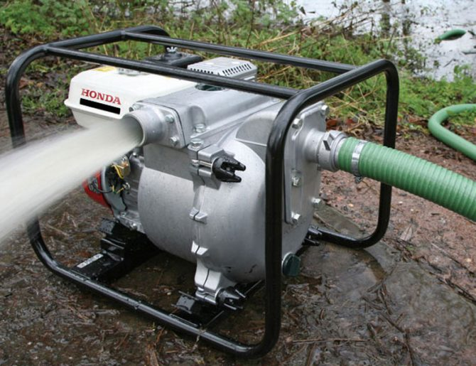 Honda WT30 Portable Trash Pump
