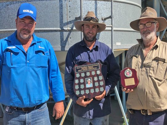 Dysart's Gregg family wins Mark Donaldson Memorial Shield