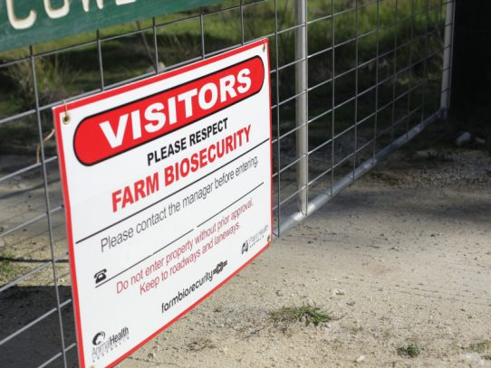 Biosecurity begins with people