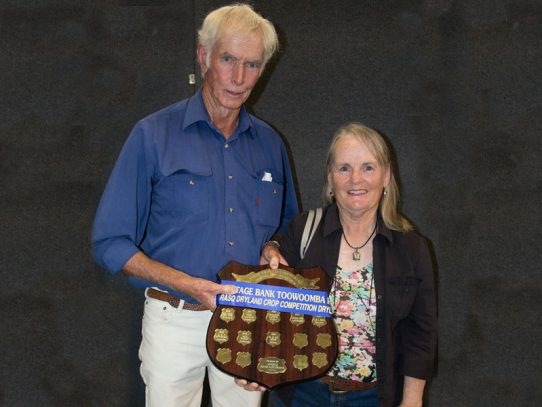 Pilton growers win both sorghum titles at RASQ crop competition