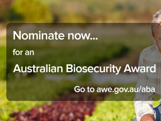 Search begins for 2021 Farm Biosecurity Producer of the Year